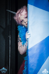 Toronto Burlesque Photographer | Burlesque Photography | Helvetica Bold