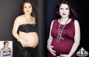 Before and After Makeover photos Toronto | Contemporary Beauty Photography | Pregnancy Photoshoot