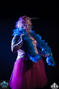 Toronto Burlesque Photographer | Burlesque Photography | Babes in Candyland | Helvetica Bold
