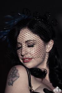 Toronto Burlesque Photographer | Burlesque Photography | Cristal Melbourne | Sarah Lea Cheesecake