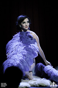 Toronto Burlesque Photographer | Burlesque Photography | New York Burlesque Festival | Indigo blue