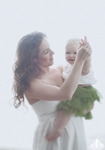 Toronto Portrait Photographer | Contemporary Parent and Child Portrait
