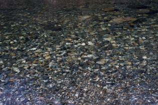 Image of stones in a riverbed