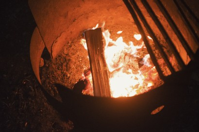 Image of a campfire